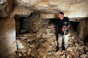 La più grande cava in Terra Santa (Menahem Kahana, AFP, Getty Images)