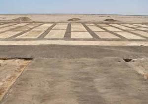 Resti di un tempio nella fortezza di Psammetico I (SCA)