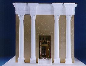 Il modello del Tempio (ritmeyer.com)