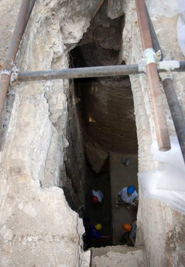 Lo scavo è profondo circa 10 metri (beniculturali.it)