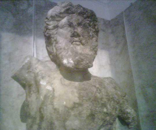 Il dio Greco Tritone (Vasco Fronzoni)