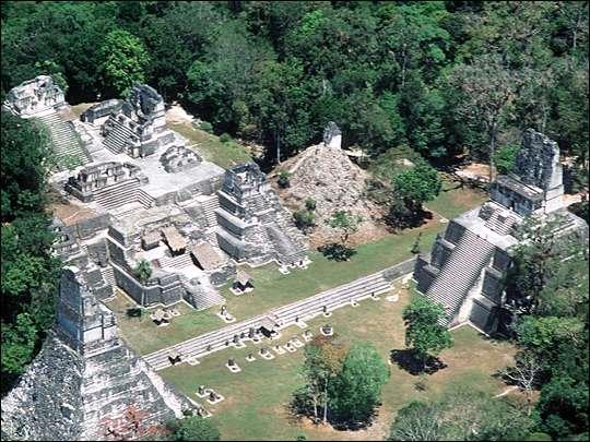 Rovine Maya nel Guatemala (Tom Sever)