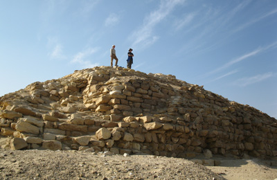 La piramide a Seila (BYU Egypt Excavation Project)