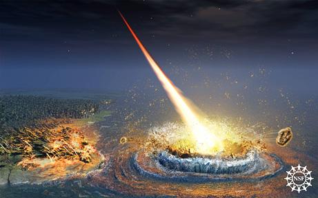 L'impatto di un asteroide potrebbe far slittare i poli (Nicolle Rager-Fuller, NSF)