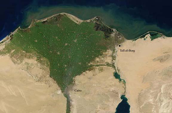 Il sito di Tell el-Borg ospita due forti (Tell el-Borg Archaeological Project)