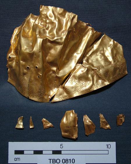 Oro trovato nel sito (Tell el-Borg Archaeological Project)