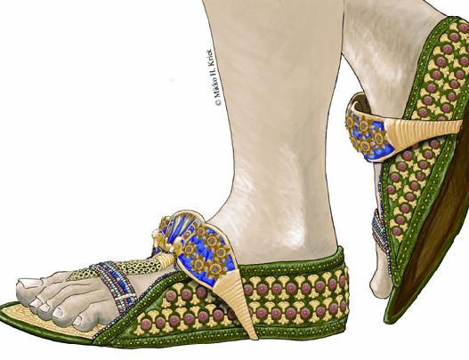 outlet store 12e3e b23db I sandali ortopedici di Tutankhamon | Il Fatto Storico
