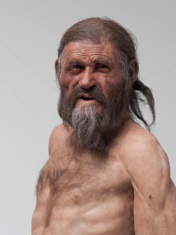 La nuova ricostruzione di Ötzi (iceman.it)
