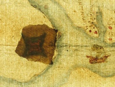 La mappa illuminata (Trustees of the British Museum)