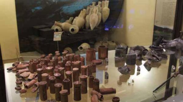 Il contenuto del Relitto del Pozzino (Soprintendenza Archeologica della Toscana)