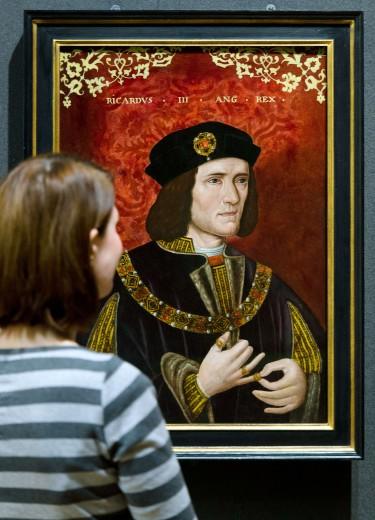 La morte di Riccardo III, durante la battaglia di Bosworth, nel 1485, segnò la fine della Guerra delle Due Rose e l'inizio della dinastia Tudor (Leon Neal, AFP Photo)