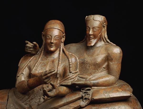 Sarcofago Degli Sposi (Araldo de Luca, Corbis)
