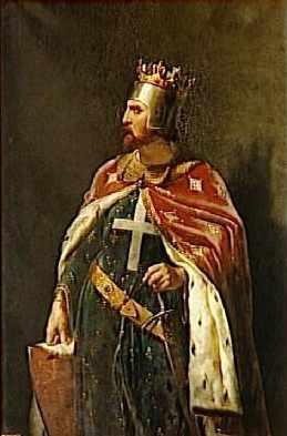 Riccardo I d'Inghilterra, in un ritratto 1841 realizzato da Merry-Joseph Blondel (wikipedia)