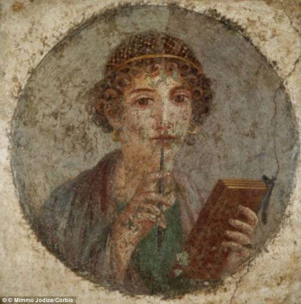 La poetessa greca Saffo (Corbis)