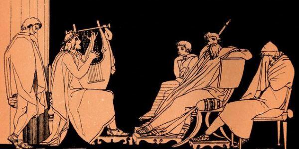 Illustrazione ispirata dall'Odissea