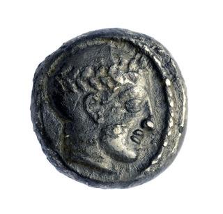 Moneta risalente al regno di Antioco III (Israel Antiquities Authority)