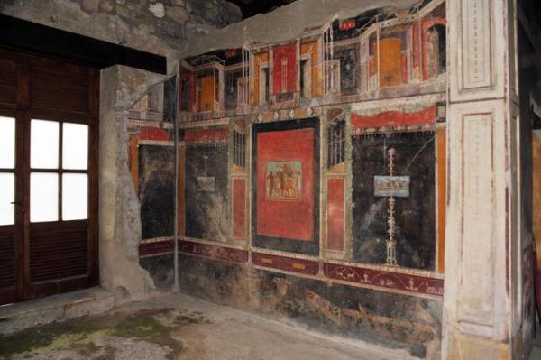 Casa di Marco Lucrezio Frontone (ANSA)