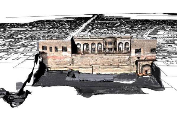 Ricostruzione Tridimensionale della Casa di Marco Fabio Rufo (Suor Orsola Benincasa)