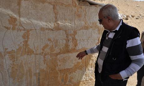 Il ministro Mohamed Ibrahim (Al Ahram)
