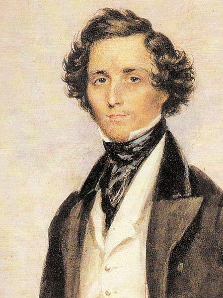 Jakob Ludwig Felix Mendelssohn Bartholdy (wikimedia)