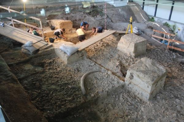 La Pineta: le attività di scavo nel corso del 2014 (C. Peretto)
