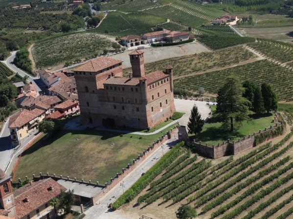 (Castle of Grinzane Cavour and experimentation vinegard - S. Muratore/Association for the Heritage of Langhe‐Roero and Monferrato vineyard landscape)