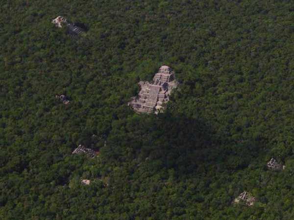 (Archivo/RBC-CONANP, Calakmul ruins)