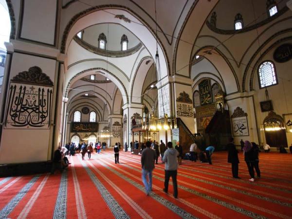 (Ministry of Culture and Tourism- Umut Özdemir, Bursa Great Mosque)