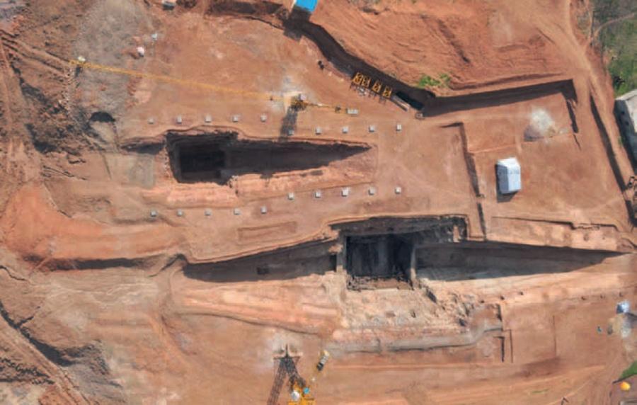 Ritorna alla luce il ricchissimo mausoleo del re Liu Fei