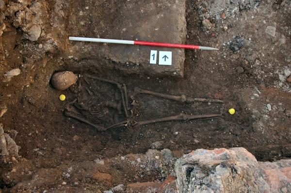 I resti appena scoperti di Riccardo III (Università di Leicester)