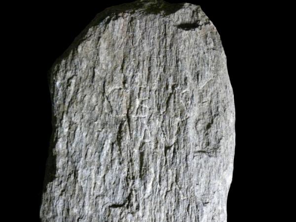 Il miliare dell'epoca di Probo (Ufficio beni archeologici)