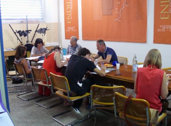 La direttrice d'ufficio Catrin Marzoli ha ilustrato i ritrovamenti (Ufficio beni archeologici)