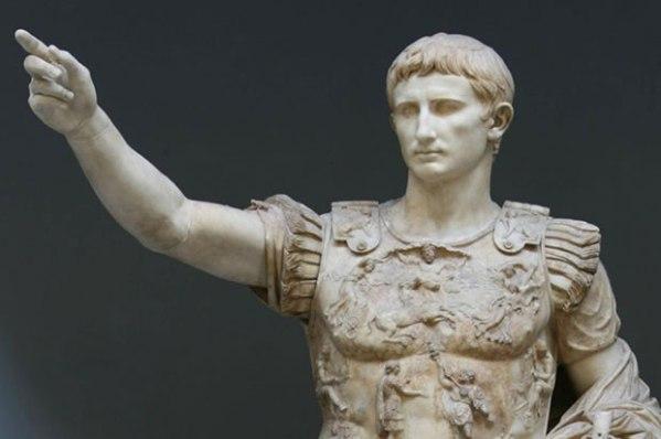 Statua di Augusto detta Augusto di Prima Porta o Augusto loricato, custodita ai Musei Vaticani (History)