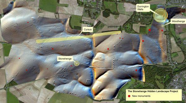 Il paesaggio di Stonehenge (LBI ArchPro)