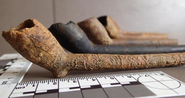 Alcune delle pipe (V. Morriss)