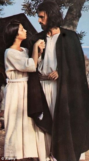 Gesù e Maria interpretati nel film Il messia