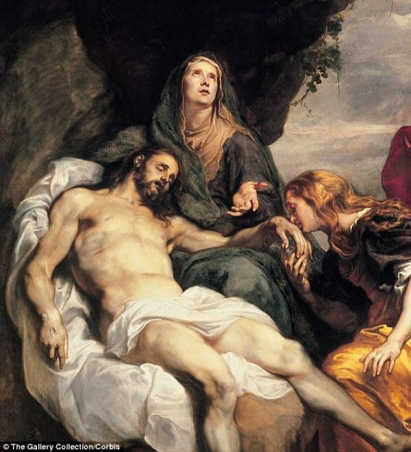 Pietà, di Antoon van Dyck