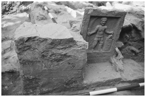Pietra tombale per un gladiatore scavata nel cimitero (PLOS ONE)
