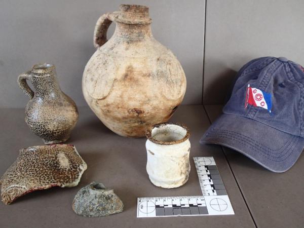 Reperti in ceramica (V. Morriss)