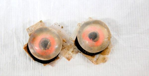 Occhi di cristalli di roccia (INAH)