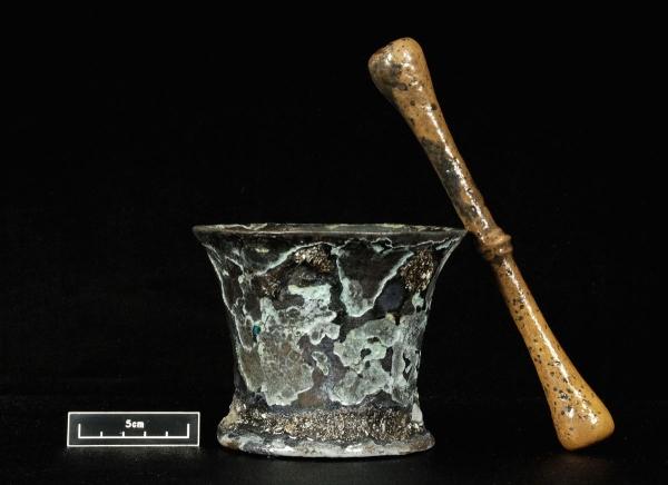 Il mortaio e il pestello (North Carolina Department of Cultural Resources)