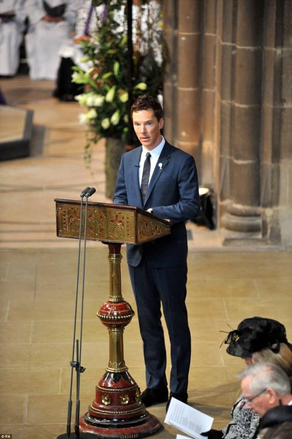 L'attore Benedict Cumberbatch (PA)