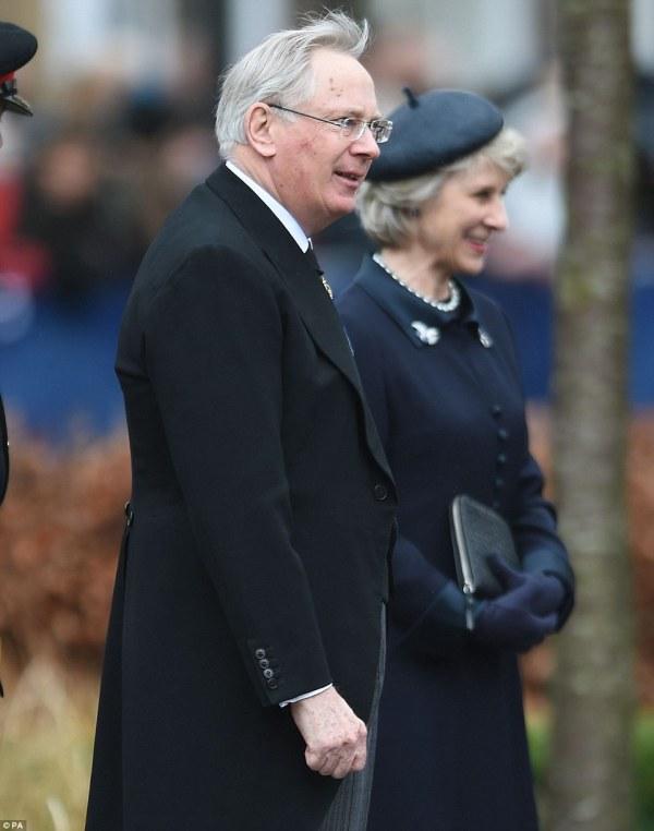 Il Duca e la Duchessa di Gloucester (PA)