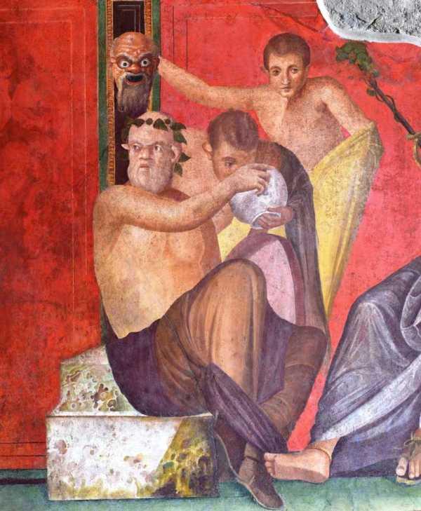 Sala del triclinio - dopo il restauro (MiBACT)