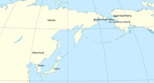 (Map template di Eric Gaba, modificata da Owen Jarus)