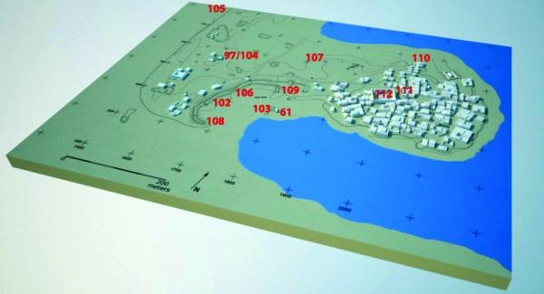 Gli scavi della stagione 2014-2105 (M. Hense)