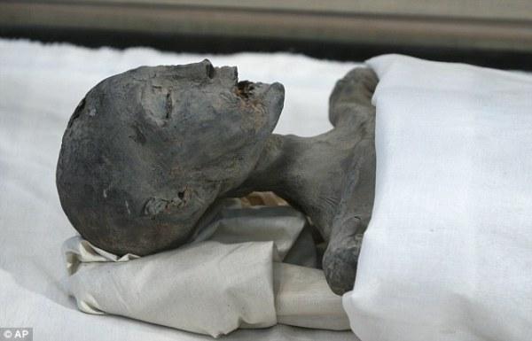La mummia nota come Younger Lady era stata identificata come la madre di Tutankhamon (AP)