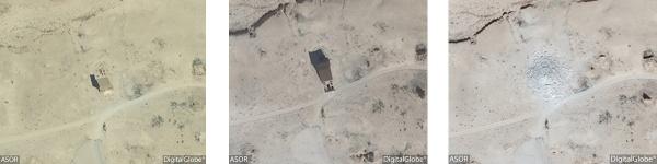 La tomba di Elahbel (DigitalGlobe)