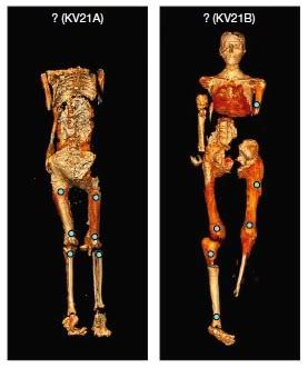 Le mummie della KV21