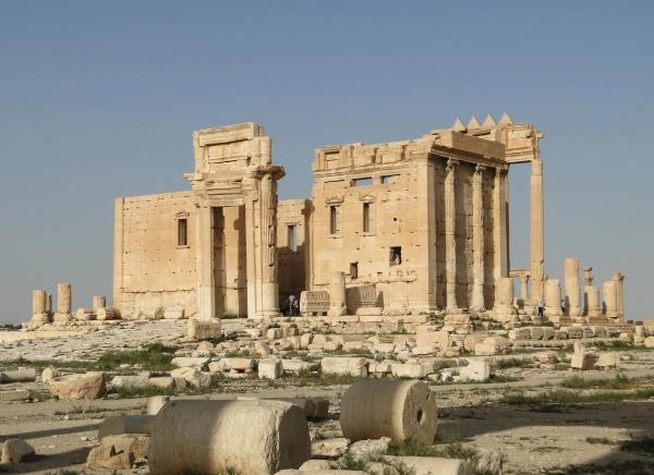 Il tempio di Bel (wikimedia)